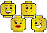 Lego Legos Lego Bricks Photo Booth Props Lego men Lego girl Lego Birthday Party - NYC PARTY PRINTABLES