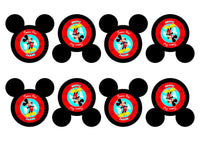 Mickey Mouse 1st Birthday Party Pack Printable Set - NYC PARTY PRINTABLES