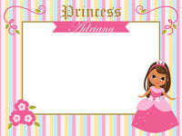 Princess Photo Booth Frame - NYC PARTY PRINTABLES