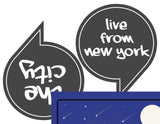 NYC Photo Booth Props + Free sign, New York Party Props, NYC Photo Booth Props, I Love New York Party, New York State Party Props, INSTANT DOWNLOAD