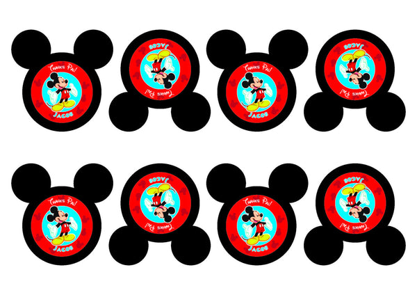 Mickey Mouse Birthday Party Pack With Invitation Photo Booth Props