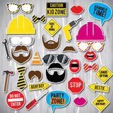 Construction Party Photo Booth Props, Printable Photo Booth Props, Instant Download Photo Booth Props, DOWNLOAD INSTANTLY