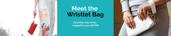 KEYPIT together with the ultimate purse organizer hack: the IT BAG • Pouch.