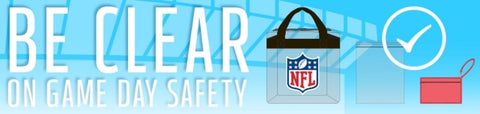 NFL Clear Bag Graphic