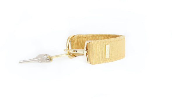 Beige CLASSIC CANVAS KEYPER® key ring