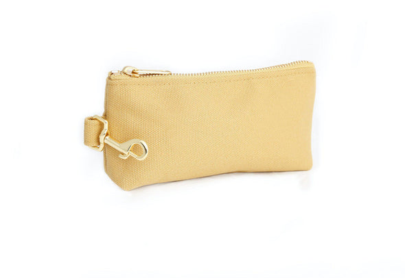 Beige Classic Canvas IT BAG • Pouch