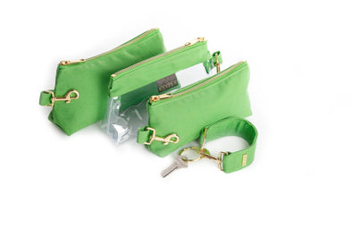 Green CLASSIC CANVAS KEYPIT SET