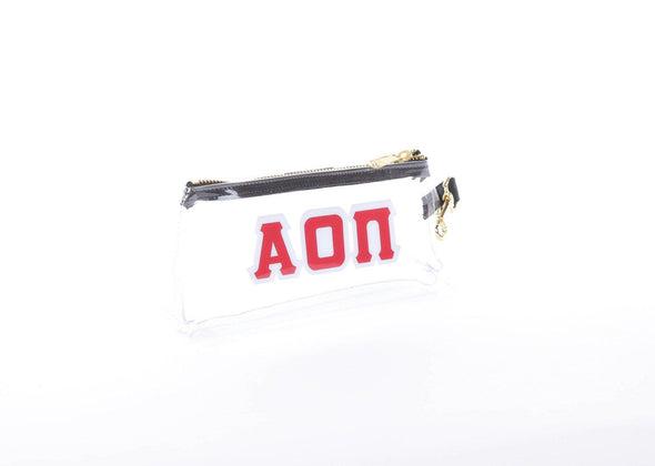 Alpha Omicron Pi Clear Sorority IT BAG