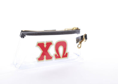 Chi Omega Clear Sorority IT BAG