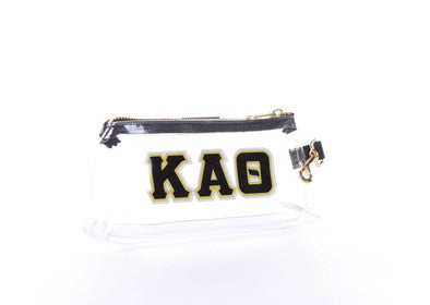 Kappa Alpha Theta Clear Sorority IT BAG