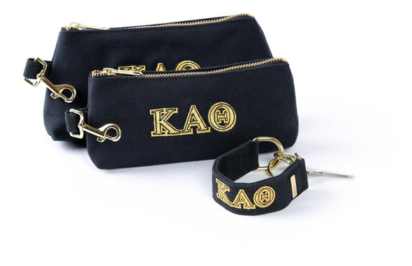 Kappa Alpha Theta Classic Canvas Sorority KEYPIT Set