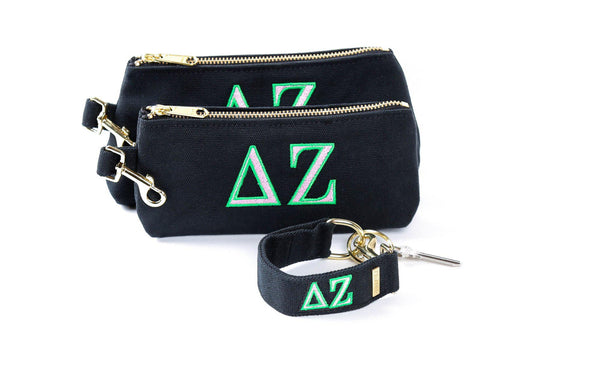 Delta Zeta Classic Canvas Sorority KEYPIT Set
