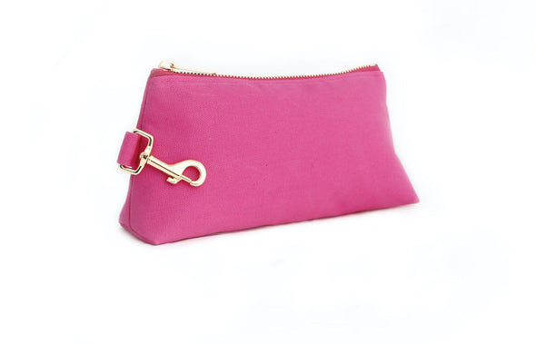 Pink Classic Canvas IT BAG • Pouch