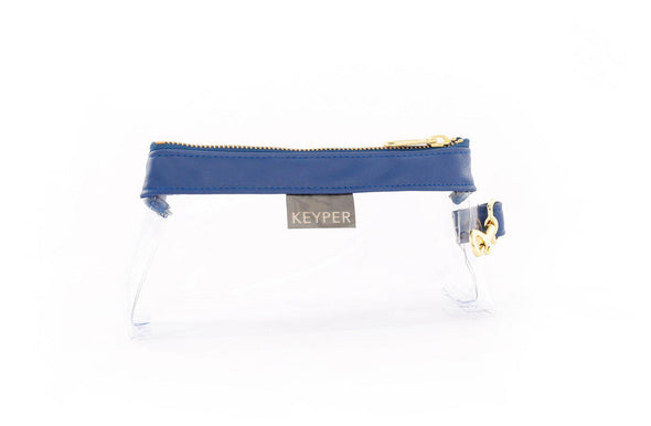 Royal Blue CLEAR IT BAG - Signature Trim
