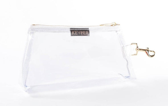 Pure White SIGNATURE IT BAG • Pouch
