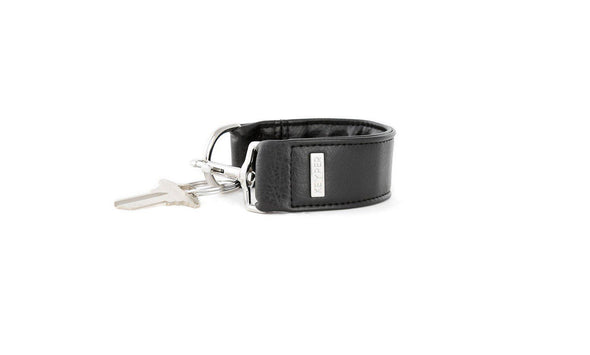 Classic Black SIGNATURE KEYPER® Key Ring