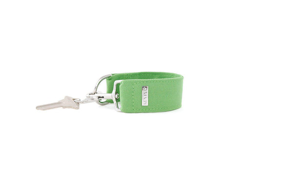 Green CLASSIC CANVAS KEYPER® key ring