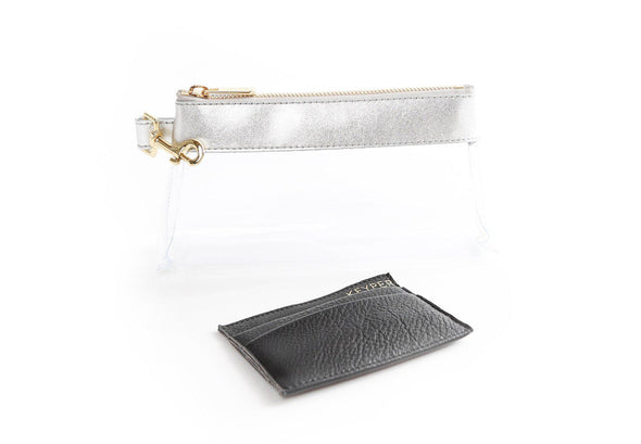 clutch purse, anti-theft travel purse, clear bag, clear bag stadium policies, clear purse, clear purse security