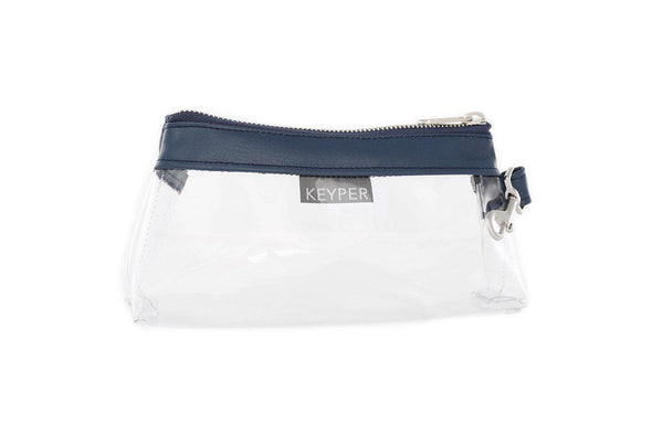 True Navy CLEAR IT BAG • Pouch - Signature Trim