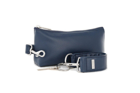 True Navy SIGNATURE 2-PIECE KEYPIT Set • Wristlet