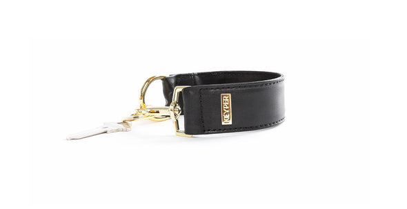 leather, anti-theft keyring bracelet,