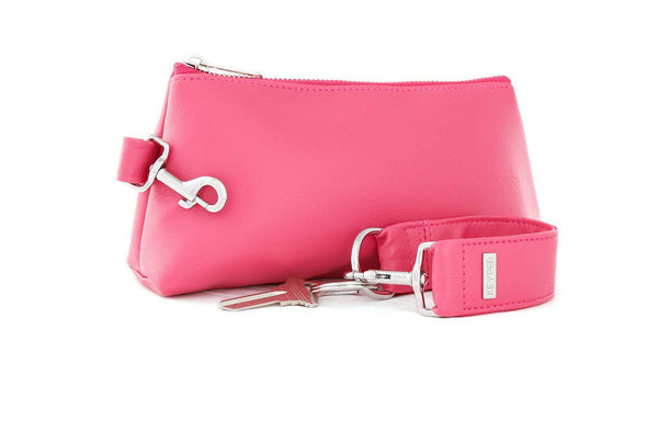 Bright Pink SIGNATURE 2-PIECE KEYPIT Set • Wristlet