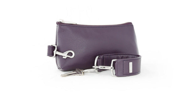 Pretty Purple SIGNATURE 2-PIECE KEYPIT Set • Wristlet