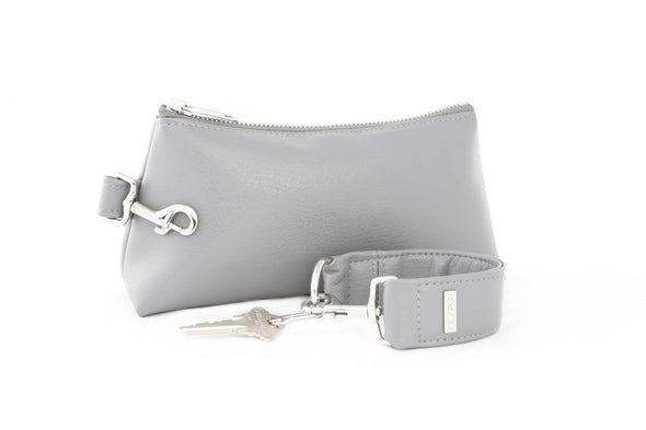 Cool Grey SIGNATURE 2-PIECE KEYPIT Set • Wristlet
