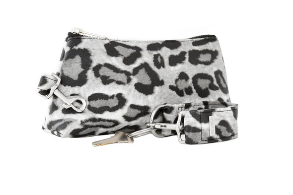 Snow Leopard SIGNATURE 2-PIECE KEYPIT Set • Wristlet
