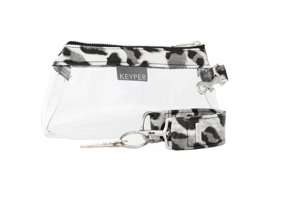 Snow Leopard CLEAR IT BAG • Pouch - Signature Trim