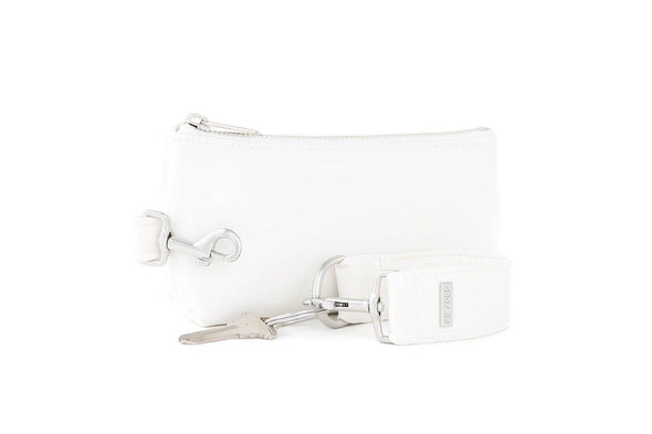 Frost White SIGNATURE 2-PIECE KEYPIT Set • Wristlet