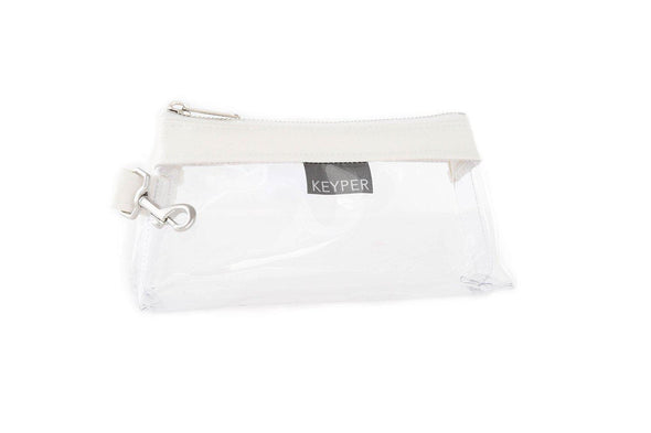 Frost White CLEAR IT BAG • Pouch  - Signature Trim