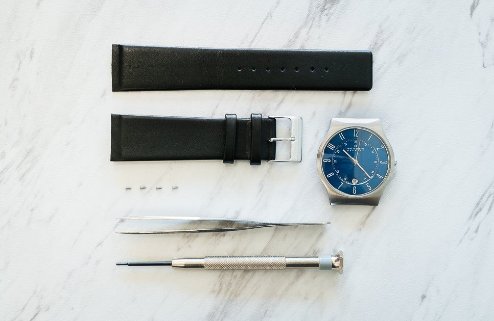 How to Replace a Skagen Watch Band with Screws