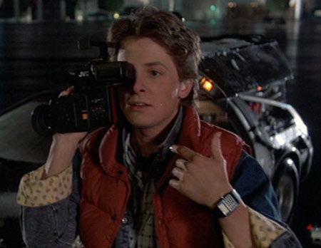 Back To The Future And The Watches Behind It
