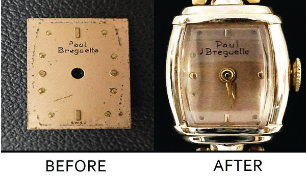 Paul Breguette - Dial Refinish & Overhaul
