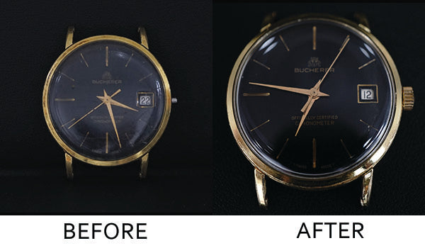 Bucherer Watch - Overhaul Multiple Components