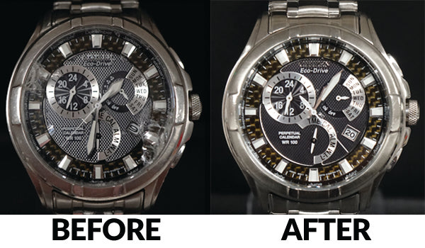 Citizen Eco Drive - New Crystal & Gasket