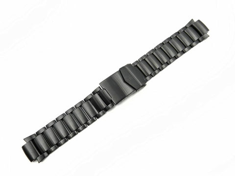 Genuine Swiss Army Basecamp Black PVD Bracelet with Clasp