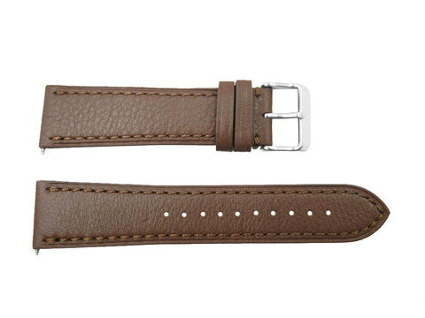 Victorinox 23mm Brown Leather Chrono Classic Watch Strap