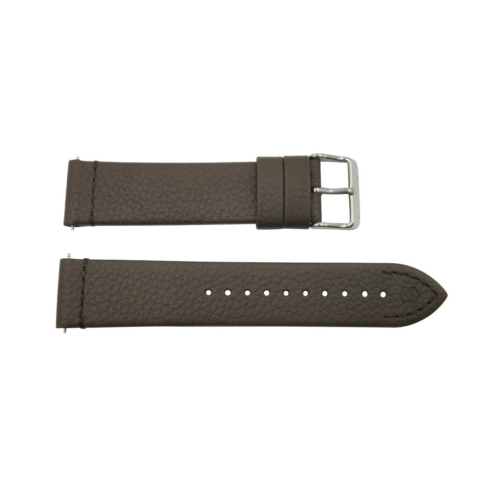 Geniune Swiss Army INOX Series 21mm Brown Watch Leather Strap