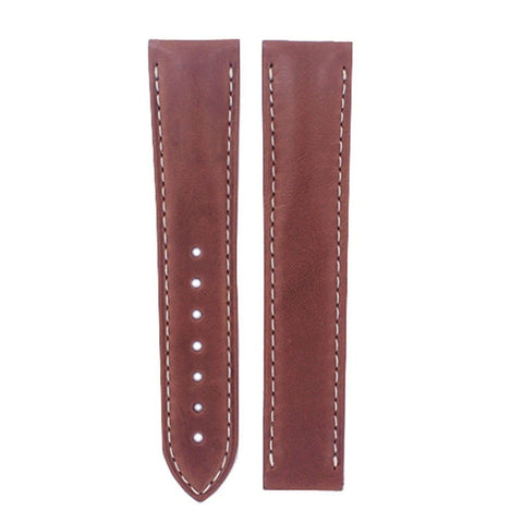 Omega 20mm Brown Calf leather Strap 032CUZ000918