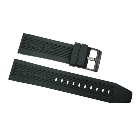 Invicta Black Rubber Watch Band For Pro Diver 0433
