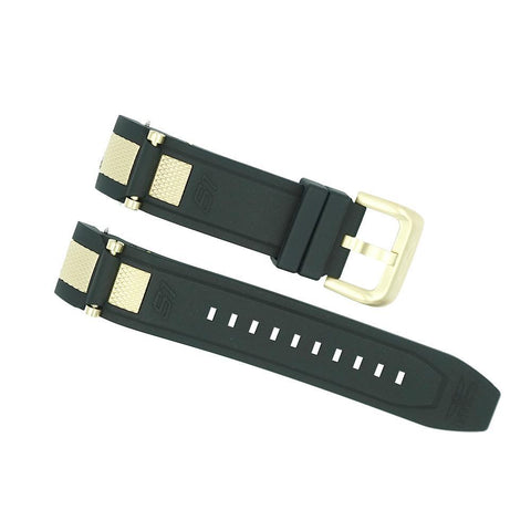 invicta 24mm black and gold s1 rally strap