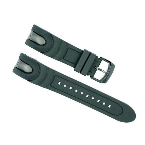 invicta 22mm black venom strap