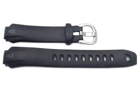 Timex Ironman Triathalon 30 Lap Black Rubber 16mm Watch Band