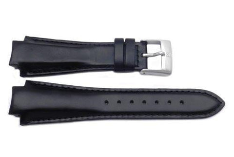 Genuine Swiss Army Brand 16mm Leather-Black-PEAK Series