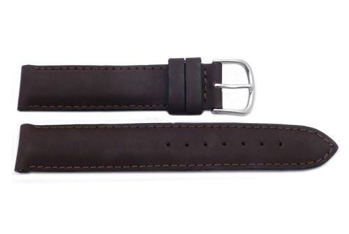 Genuine Swiss Army Brand 18mm-Leather-Burgundy Brown