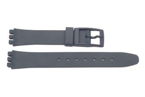 Swatch Replacement Plastic Gray 12mm Watch Band