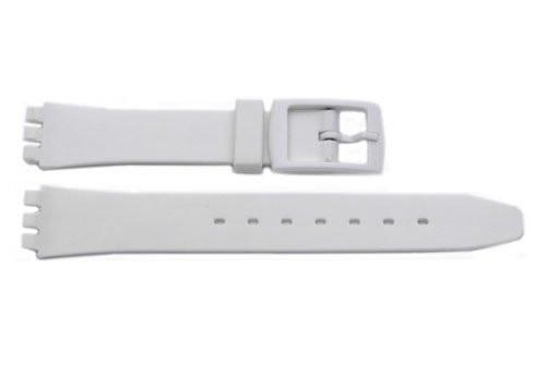 Swatch Replacement Plastic White 12mm Watch Strap