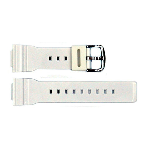 Genuine Casio Baby G-Shock White Resin 24mm/14mm Watch Strap- 10451765